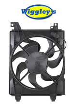 A/C CONDENSER COOLING FAN HY3113105 FOR 01 02 03 04 05 06 HYUNDAI ELANTRA A/T image 1
