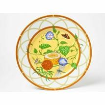 """Hermes La Siesta Dessert Piatto 8.75 """" Porcellana 22.5 CM Stoviglie Fior... - $274.67"""