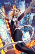 Spider-Gwen Ghost Spider 1 Stanley Artgerm Lau Trade Dress Variant  - $4.94