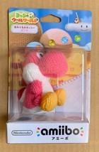 Yoshi Pink Yarn Amiibo Nintendo Japan - $27.72