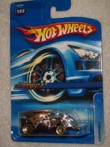 #2006-153 Vampyra Lace Gold Wheels Collectible Collector Car Mattel Hot ... - $5.94