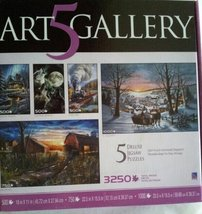 Art 5 Gallery Deluxe Jigsaw Puzzles - $22.99