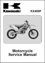 2012-2013-2014 Kawasaki KX450F Service Repair Manual CD - $12.00