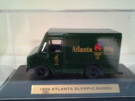 1996 Atlanta Olympic Games Die-cast Metal Panel Truck   (A) - $19.00