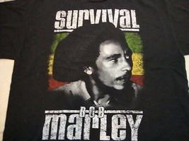 Bob Marley Survival jamaica album record 1979 reggae music T Shirt XL - $15.83