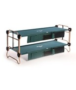 NEW Portable Military Style Bunk Bed Cot Bedding System - 2 Beds w Side ... - €386,50 EUR