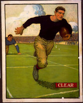 "11 X 14""  canvas art print~    Clear, Football - Vintage Sports Athletic... - $23.99"