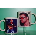 George Michael 2 Photo Designer Collectible Mug - $14.95