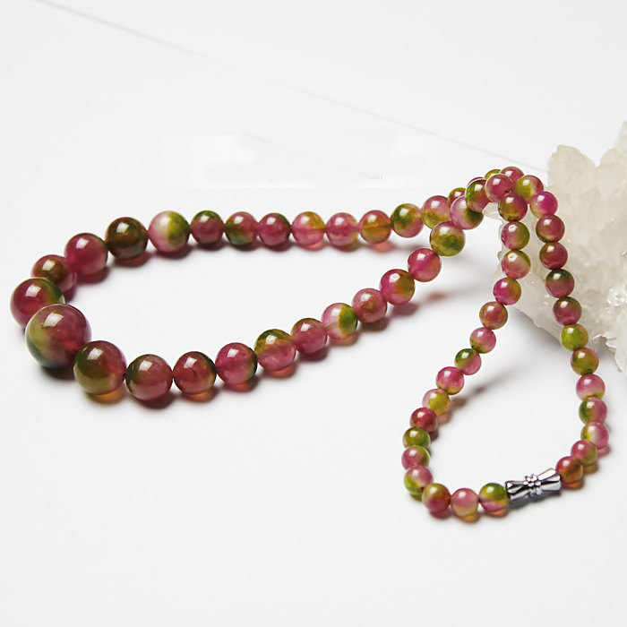 Free Shipping - Handcrafted Natural Colorful crystal choker / Natural Colorful q