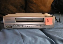 2 Sylvania 6260VF VCR Being sold for parts not working - $16.00