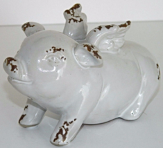 """Pot Belly """"Flying Pig"""" Statue Country Wings Goo... - $24.79"""