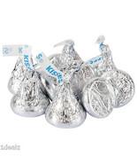 Silver Hershey's Kisses Milk Chocolate Candy Five Pound 5LB Wholesale FE... - $998,95 MXN