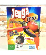 JENGA MAX Game Hasbro Parker Brothers Hook'em Hang'em Family Fun Complet... - $6.92