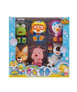 Pororo Bath Water Gun 7 Friends Character Figure Set (6 pcs) Toys Kids Baby - $27.10