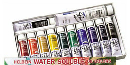 Holbein Duo DU905 Aqua Water-Soluble Aceite Color 12 Elite Set Envío Gra... - $91.66