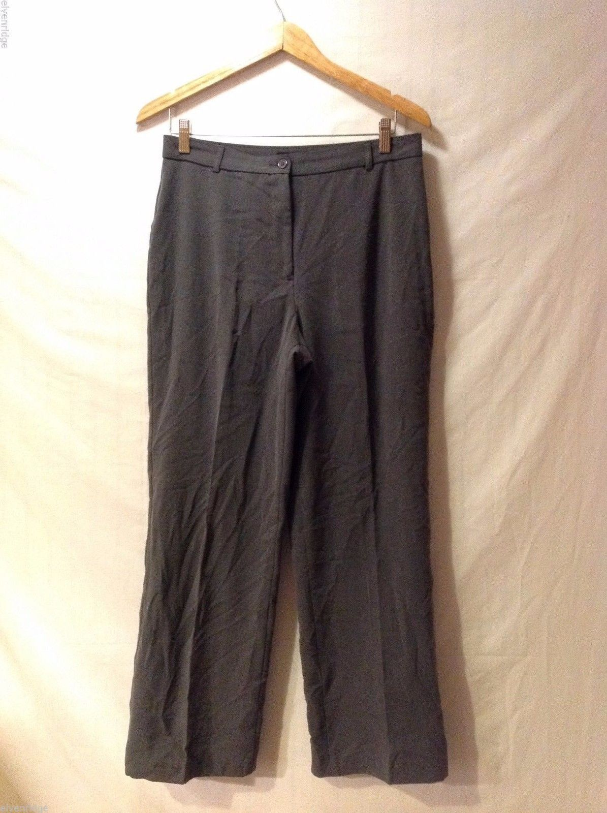 East 5th Secretly Slender Womens Gray Dress Pants, Size 10