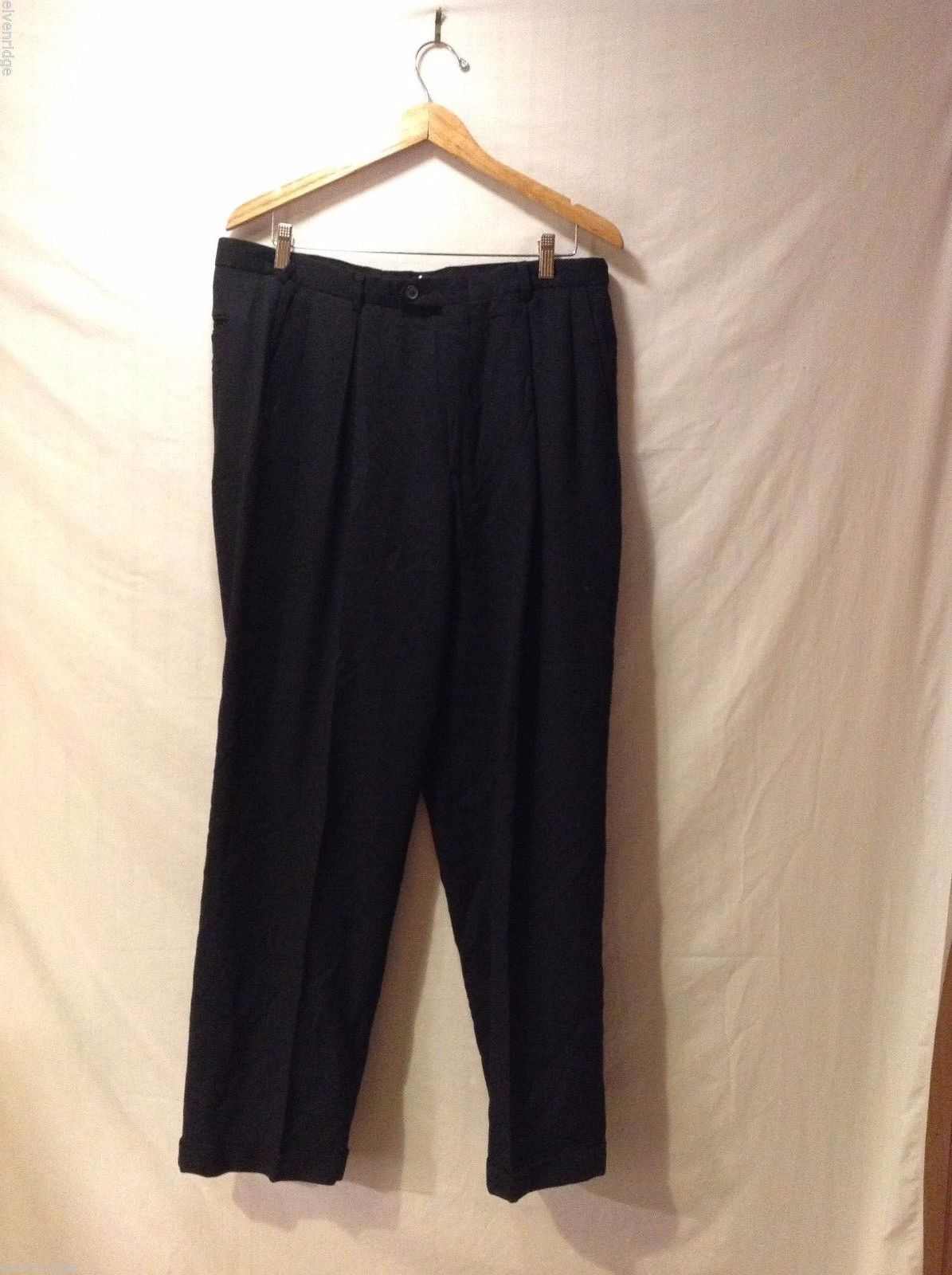 N Signia Mens Black Dress Pants