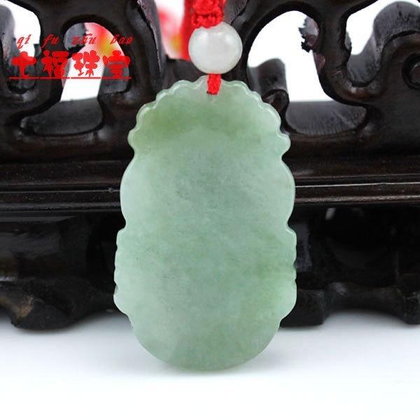 Jadeite Jade pendant Natural green Jadeite Jade Zodiac pendants