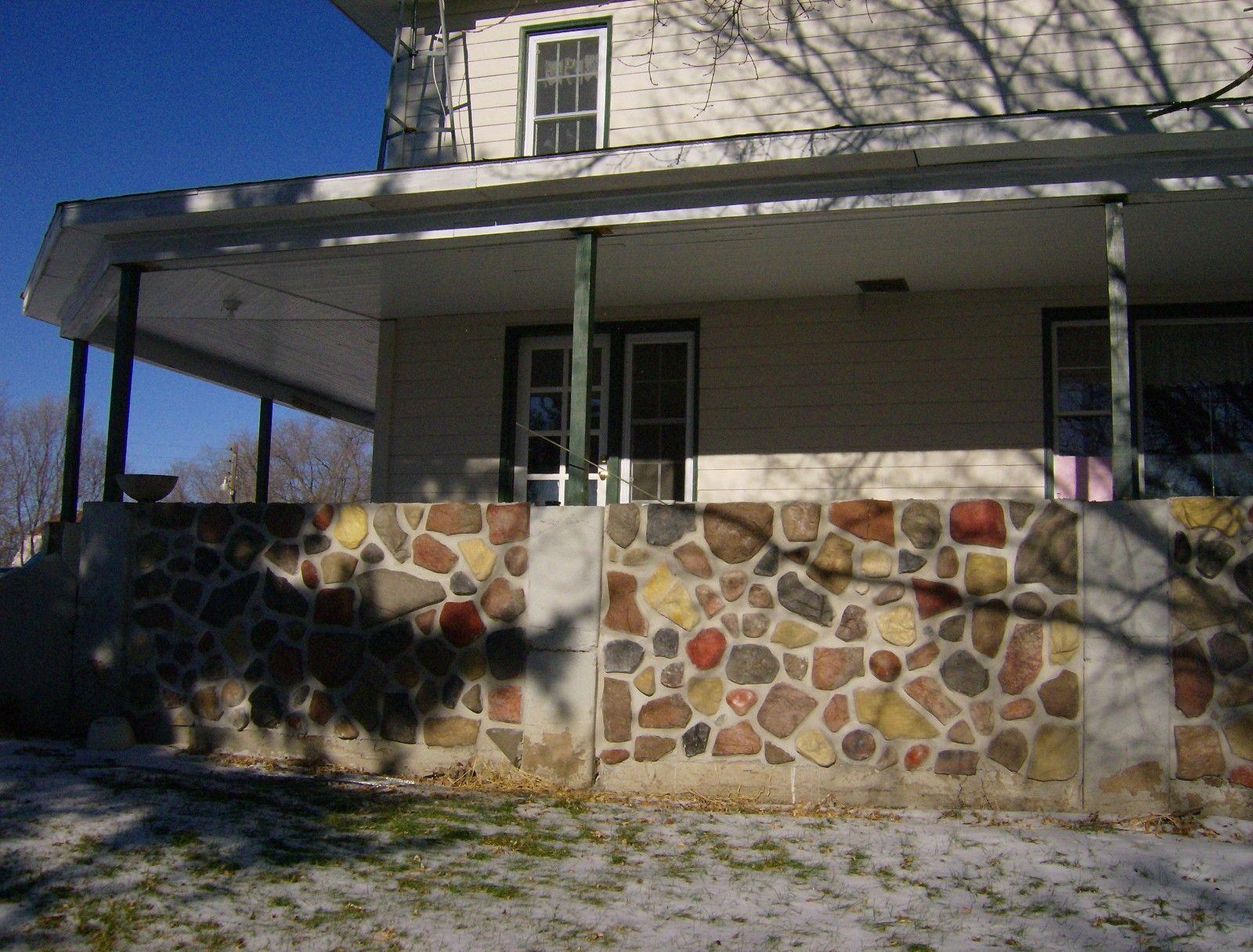 #OAF-04 Fieldstone Garden Molds (14) Make 100s Concrete Stones For Pennies Each