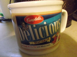 Campbell's Soup Advertising Vegetable Soup 2004 soup mug with handle - $18.00