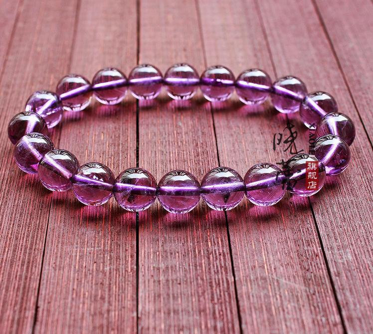 Free Shipping - AAA Natural Amethyst  / Purple Crystal / purple Quartz  Prayer B