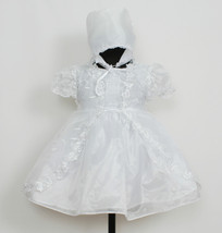 New Baby Christening Gown,Cape,Bonnet Newborn to 6 M - $28.90