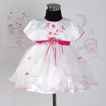 New Christening Party Flower Girl Dress in Hot Pink,White,Lilac,Red 3-18... - $21.60