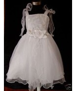 New Flower Girl Party Bridesmaid FairyChristening Dress - $15.16