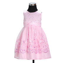 New Flower Girl Party Bridesmaid Wedding Pageant Dress in Ivory,Pink 2-6... - $20.63