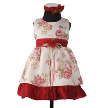 New Girls Party Dress with Headband&Bloomers in... - $32.54