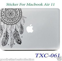 Fashion Colorful Flower Decal Sticker For Macbook Air 11 in - TXC-061 - $13.09
