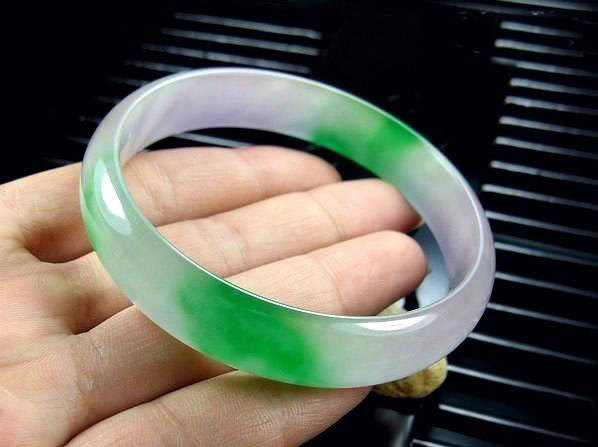 Free Shipping - (custom your size Diameter 55MM -64MM) green Jadeite Jade charm