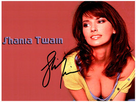SHANIA TWAIN  Signed Autographed Photo w/ Certificate of Authenticity 332 - $95.00
