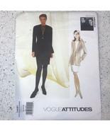 Vogue Sewing Pattern 1491 Badgley Mischka Size 12 14 16 Tunic And Skirt ... - $10.11