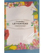 Stationery Paper Print Invitations/Notice/Letter Hawaiian Luau Design 10... - $12.99