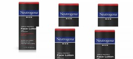 Neutrogena Men Triple Protect Face Lotion with Sunscreen SPF 20 1.70 oz (5 pack) - $31.99