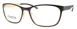 SMITH Optics Prowess FG4 Women's Eyeglasses Frames 57-17-140 Brown / Gold + CASE - $69.10