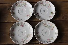 4 Vintage Haviland Limoges France Tea Plates - $39.60