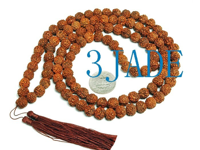Free Shipping - Tibetan natural Bodhi Seeds 108 Meditation yoga Prayer Beads Mal