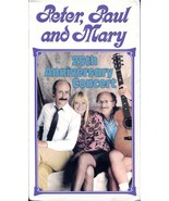 Peter, Paul and Mary - 25th Anniversary Concert (VHS, 1990) - $10.00