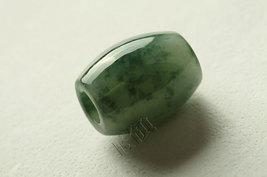 Free Shipping - Hand carved  Natural dark tea Green Jadeite Jade Ball ch... - $30.00