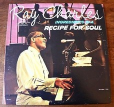 """Ray Charles """"Ingredients In A Recipe For Soul"""" Vinyl 12""""LP 1963 -Album-R... - $13.50"""