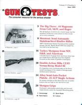 Gun Tests Magazine Volume 5 Number 6 June 1993 44 Magnums, Semi Automati... - $10.00