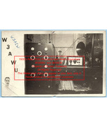 1930's Undated Vintage Photo Postcard QSL Card old Ham Radio Equipment - $49.99