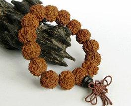 Free Shipping -  Tibetan natural Bodhi Seeds Prayer Beads charm bracelet - $20.00