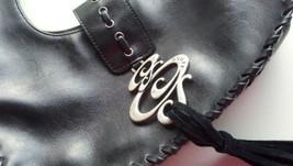 Women Evening Shoulder Handbag Purse Fashion Black Authentic Guess Leath... - $38.60