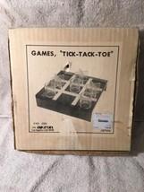 Vintage Akron Tick Tack Toe Game Plastic - $9.50