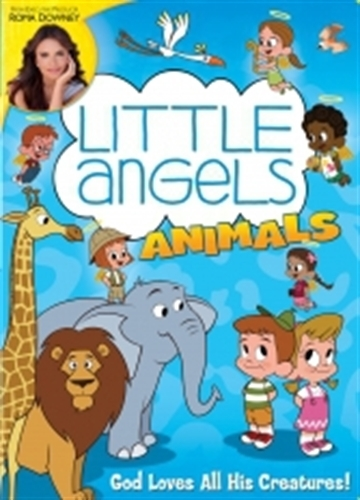 Little angels animals  dvd   by roma downey