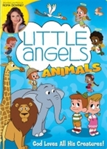 LITTLE ANGELS ANIMALS Volume 2 - DVD - by Roma Downey