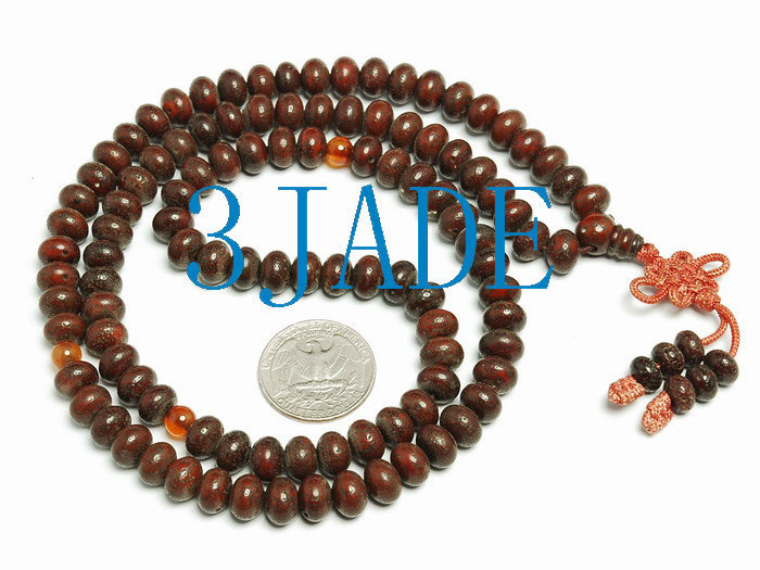 Free Shipping - Tibetan buddhist natural Bodhi Seeds Meditation yoga 108 Prayer